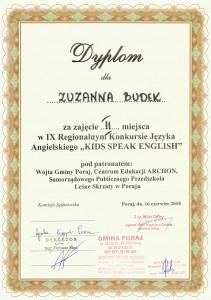 Konkurs zj. angielskiego